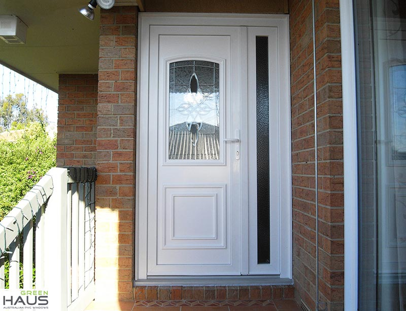 Double glazed windows double glazing soundproof windows - Upvc double front exterior doors ...